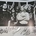 Bolt Thrower - Other Collectable - Bolt thrower signed picture