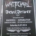 Whitechapel - Other Collectable - whitechapel/devildriver tour poster