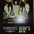 Ghost signed event poster Other Collectable