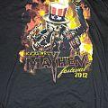 Slayer - TShirt or Longsleeve - Mayhem fest 2012 shirt