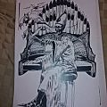 Tony Karnes Papa emeritus organ print. Other Collectable