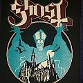 Ghost opus eponymous printed backpatch