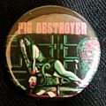 Pig Destoyer Girl button