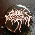 Cattle Decapitation Logo button