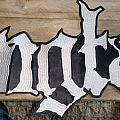 Mgła logo backpatch