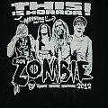 Rob Zombie 2012 tour shirt