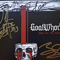 goatwhore blood for the master signed  Tape / Vinyl / CD / Recording etc