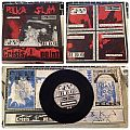 "Polka Slam/Crisis Point split zine 7"" compilation 1988 Tape / Vinyl / CD / Recording etc"