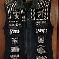 Metal Punk Vest Battle Jacket