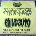 "Agathocles / Grindbuto Split 7"" promo copy - R.I.P. Frank Grindbuto Tape / Vinyl / CD / Recording etc"