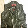 Leather Vest + Eyehategod Shirt