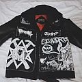 Full Of Hell - Battle Jacket - Black Death 2.0 + Leather Jacket