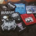Black and death patches