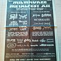 Milwaukee Metalfest 1998 Other Collectable