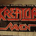 KREATOR / RAVEN tour 1989 Other Collectable