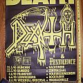 DEATH tourposter, europe 1990 Other Collectable