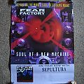 Other Collectable - FEAR FACTORY - promo poster