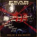 Other Collectable - FEAR FACTORY - signed