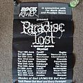 Other Collectable - PARADISE LOST - tour poster