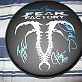 Other Collectable - FEAR FACTORY - signed drumhead