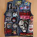 Death - Battle Jacket - DEATH battle vest finish
