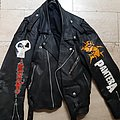 Death - Battle Jacket - leatherjacket with painted band logo's