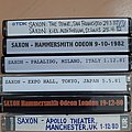 Saxon - Tape / Vinyl / CD / Recording etc - 28 Saxon live tapes