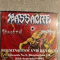 Massacre - Tape / Vinyl / CD / Recording etc - Massacre live bootleg  Cd + Dvd