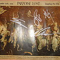 Paradise Lost signed