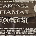 Death - Tape / Vinyl / CD / Recording etc - Death, full of hate festival 1993