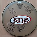 Kittie - Other Collectable - Kittie, signed drumhead
