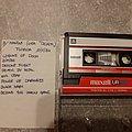 Mantas - Tape / Vinyl / CD / Recording etc - Mantas live tape from 1984