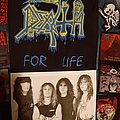 Death - promo photo Spiritual Healing time, signed by all Other Collectable