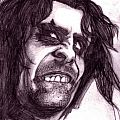 Alice Cooper drawing (2000) Other Collectable