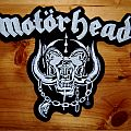 Motörhead - Patch - Motorhead back patch