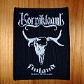 Korpiklaani - Patch - Korpiklaani - Finland patch