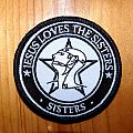 "The Sisters of Mercy ""Jesus loves the Sisters"" bootleg patch"