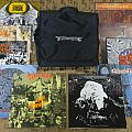 10 LP set with Earache Records DJ bag Tape / Vinyl / CD / Recording etc
