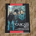 CARCASS / Japanese music score book 1994 Other Collectable