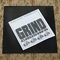 Earache Sampler / Grind Crusher LP test press 1989 Tape / Vinyl / CD / Recording etc