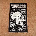 Carcass - Patch - CARCASS / Cabeza canvas patch