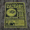 CARCASS / Australian tour flyer 1993