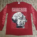 Carcass - TShirt or Longsleeve - CARCASS / Cabeza burgundy long sleeve shirt