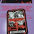 CARCASS / Necroticism-D.T.I. rubber patch