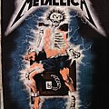 Glow in the Dark 'Ride The Lightning' Metallica backpatch, 1987