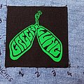 Green Lung printed patch, lungs logo