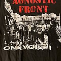 Agnostic Front - TShirt or Longsleeve - Agnostic Front One Voice