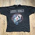 Dimmu Borgir Puritanical Euphoric Misanthropia 2001 Tour Shirt