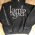 Lamb Of God - Hooded Top - Lamb of God Pure American Metal Hoodie