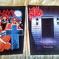 Slayer - Patch - Slayer and Metal Church Back Patches
